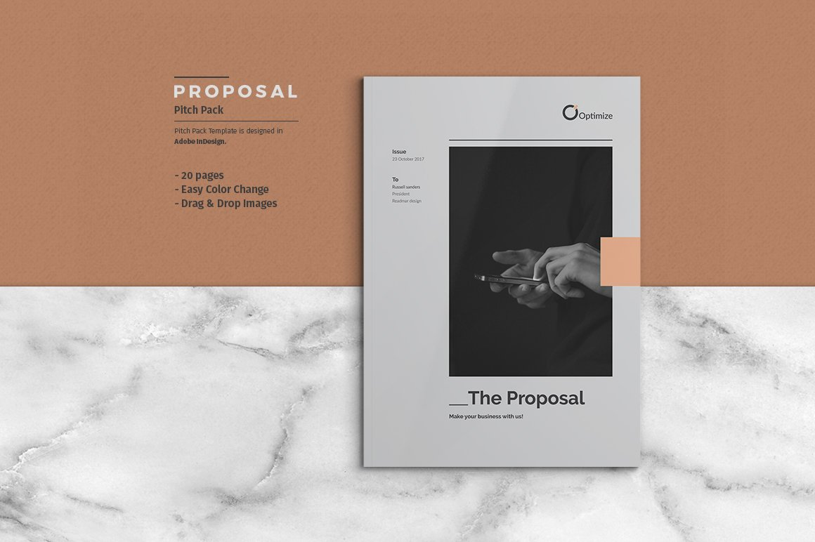 Proposal Pitch Pack ~ Brochure Templates ~ Creative Market