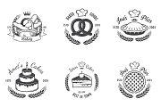 Vintage bakery emblems. Part 3
