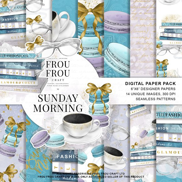 Sunday Morning Coffee Paper Pack