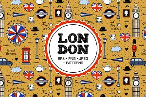London Illustrations & Patterns