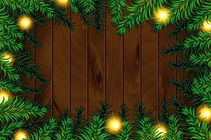 3 Christmas tree background