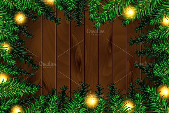 3 Christmas tree background in Graphics