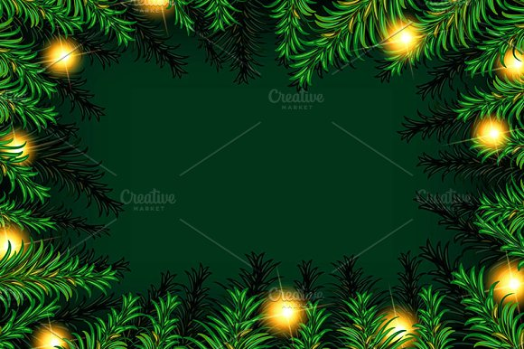 3 Christmas tree background in Graphics - product preview 2