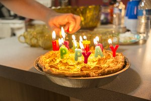 Birthday Pie Cake