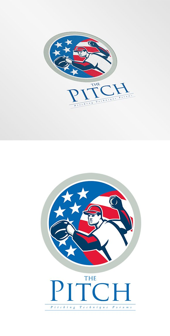 The Pitch Forums Logo in Logo Templates