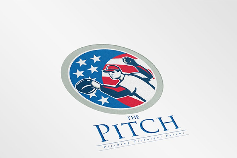 The Pitch Forums Logo in Logo Templates - product preview 8