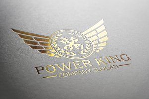 Power King logo