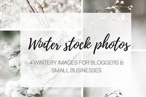 50 % OFF Winter stock photos