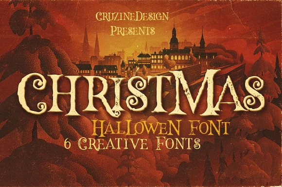 Hallowen Typeface ~ Display Fonts ~ Creative Market
