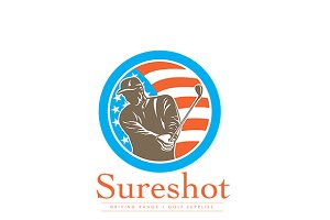 Sureshot Driving Range Logo