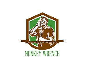 Monkey Wrench Plumber Services Logo