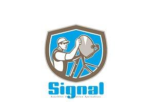 Signal Satellite Installation Logo
