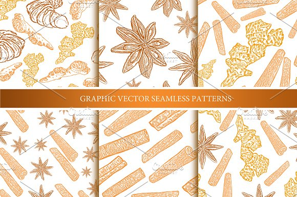 Spice patterns collection in Patterns - product preview 2