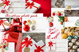 Christmas photos pack
