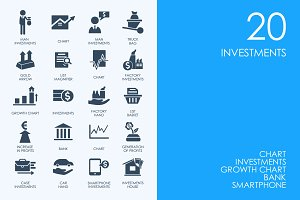 Investments icons