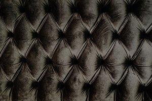 brown velvet backrest
