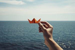 Paper boat dreams