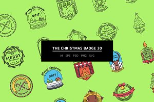 The Christmas Badges 20