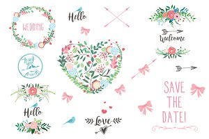 Save The Date Wedding Clipart