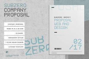 Subzero Proposal