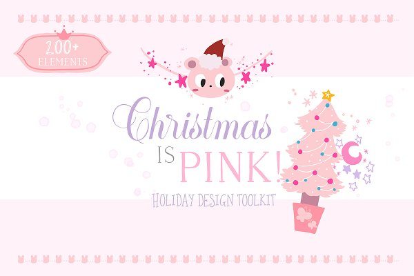 Christmas is Pink! Holiday Toolkit