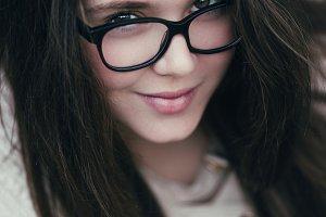 Beautiful teenage girl portrait