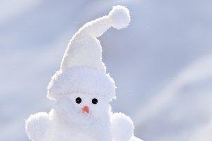Little white snowman