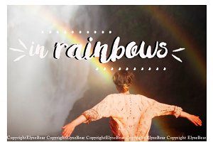 15 Rainbow Photoshop Overlays