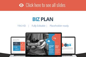 Biz Plan - Keynote Template
