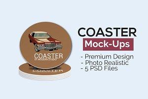 Coaster Mock-Ups