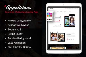 Appolicious App landing Page