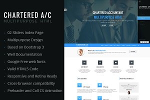 Chartered A/C Multipurpose HTML