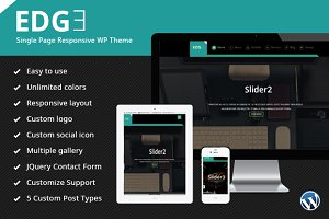 EDGE Single Page WP Theme