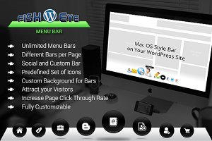 WordPress Plugins - FISHEYE Menu Bar