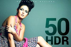 50+ HDR Photshop Actions