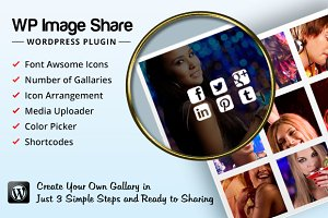 WordPress Plugins - WP Image Share Plugin