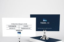 Technology U.S. sized Business Card