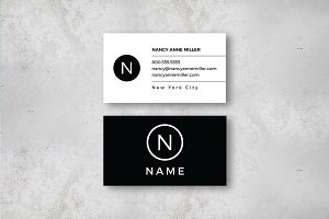 Luxe U.S. sized Business Card