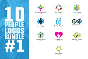 10 People Logo Bundle #1