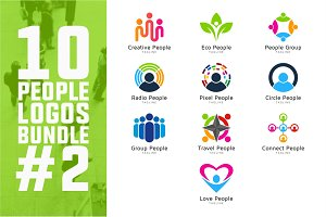 10 People Logo Bundle #2