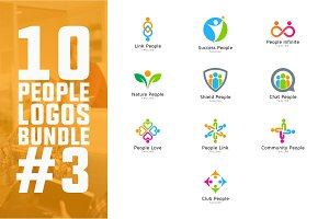 10 People Logo Bundle #3