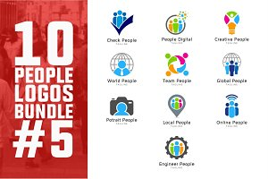 10 People Logo Bundle #5