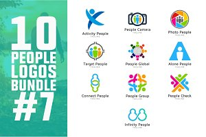 10 People Logo Bundle #7