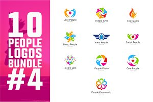 10 People Logo Bundle #4