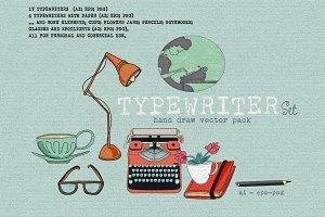TYPEWRITER SET