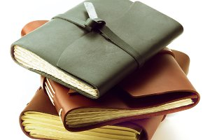 Handmade Leather Notepads