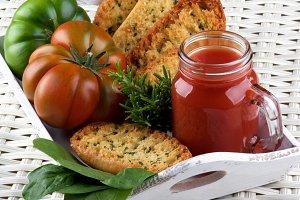 Tomato Juice and Bread