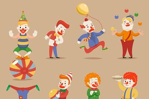 Cute Funny Clowns