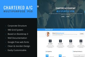 CHARTERED A/C Multipurpose Template
