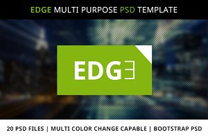 EDGE Multipurpose PSD Template